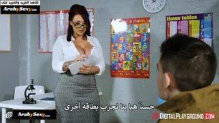 سكس معلمات أجنبي مترجم 8211; جوردي وتعلم اللغة الإنجليزية فيديو عربي